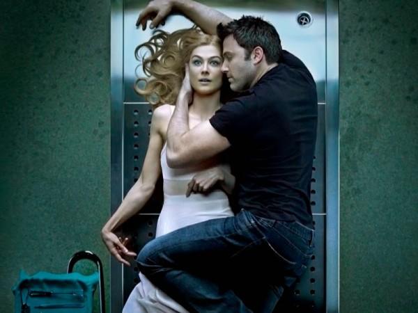 David Fincher y Ben Affleck en Perdida