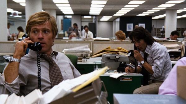 'Todos los hombres del presidente' (1976), el apasionante oficio de periodista en el cine